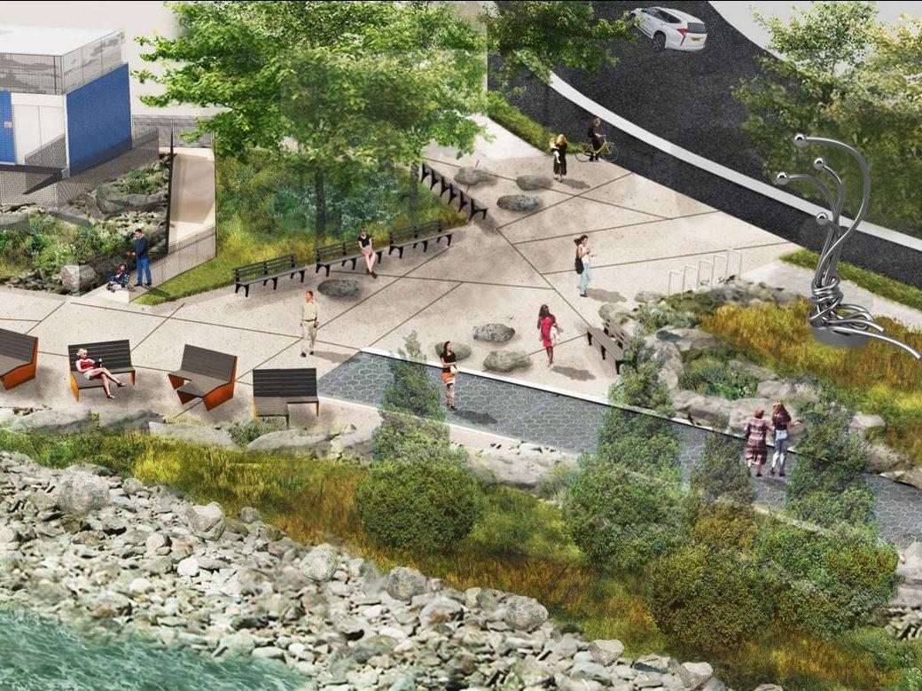 New Stapleton Waterfront Planting Plan