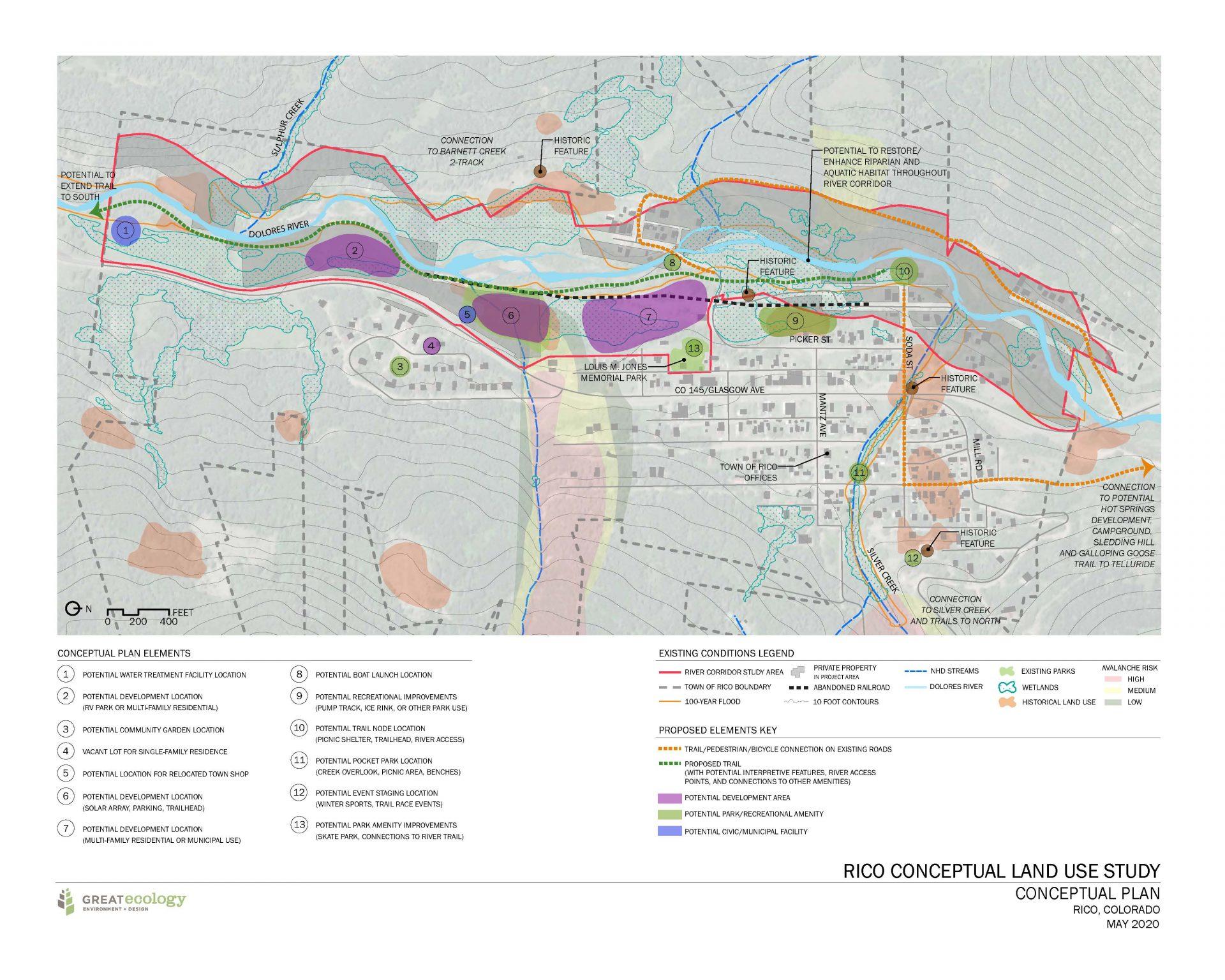 Town of Rico Conceptual Land Use Plan