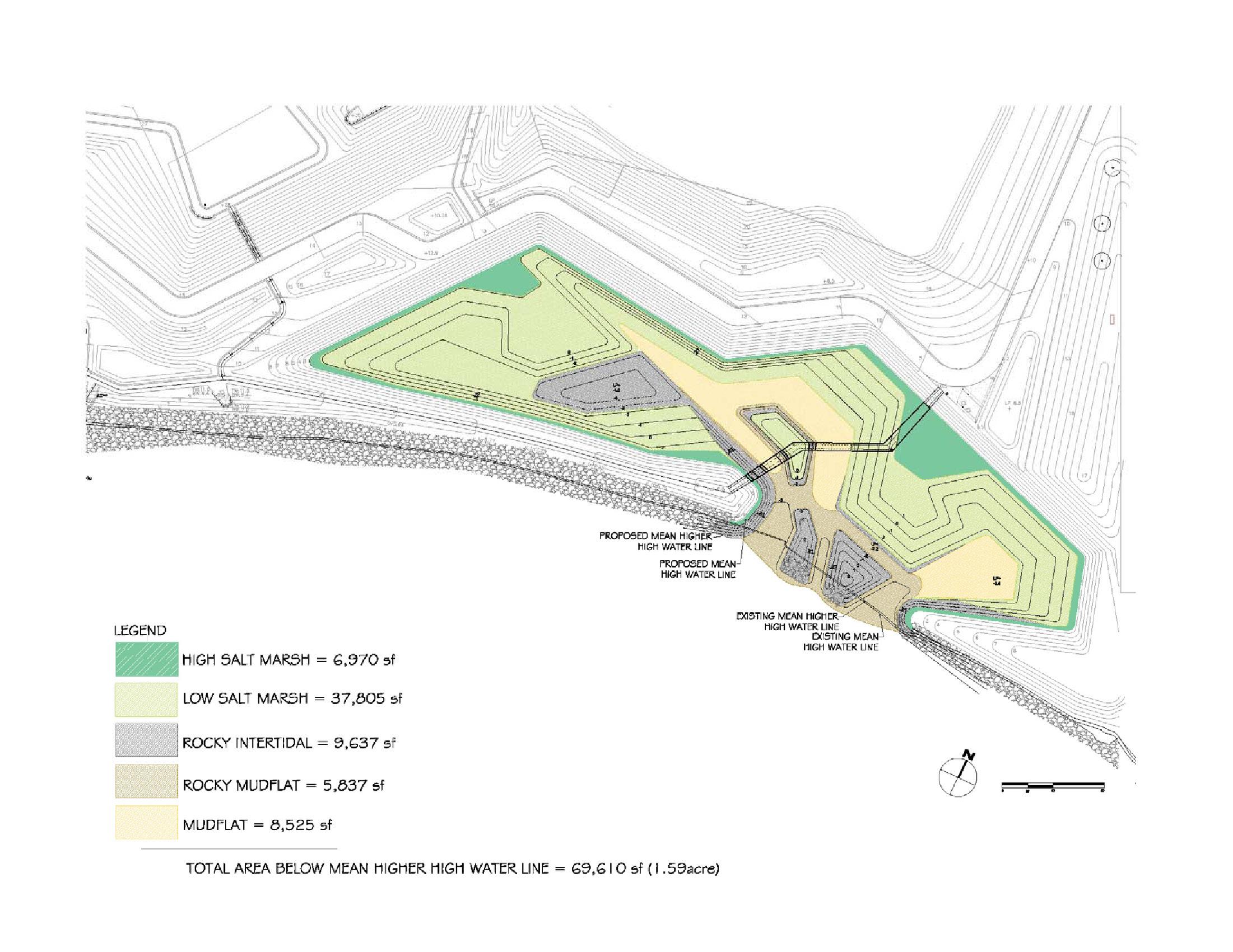 Ferry Point Park Marsh design