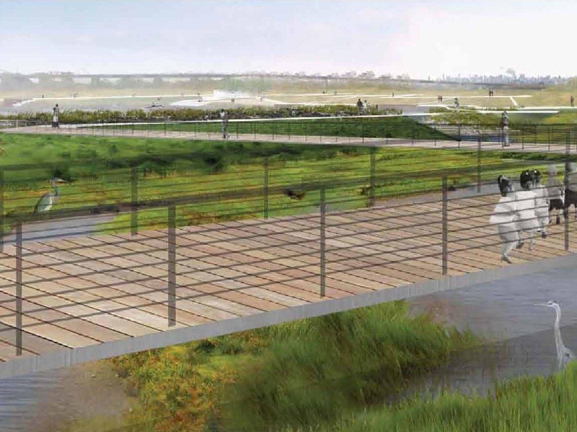 Ferry Point Waterfront Park Restoration