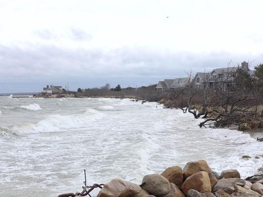 Stormsurge near Lazy Point