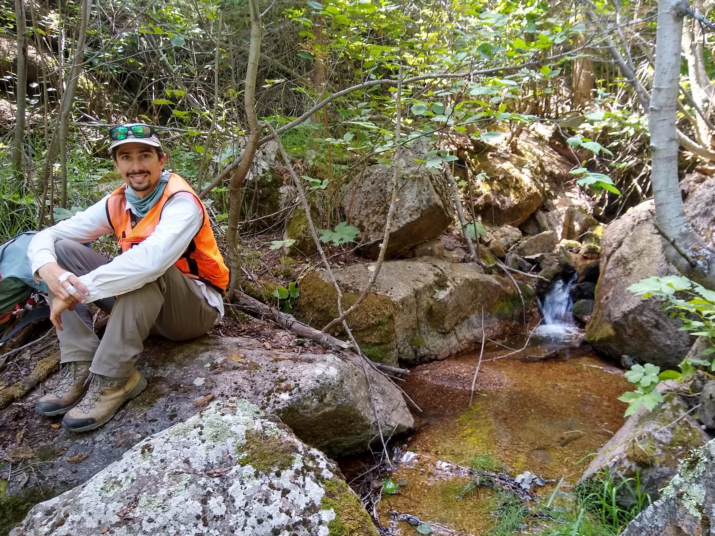 Justin Apfel Promoted to Associate Ecologist