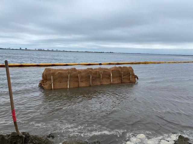 Oyster Shell Bag Breakwaters 3