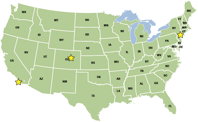 Map of US green + office location + black text