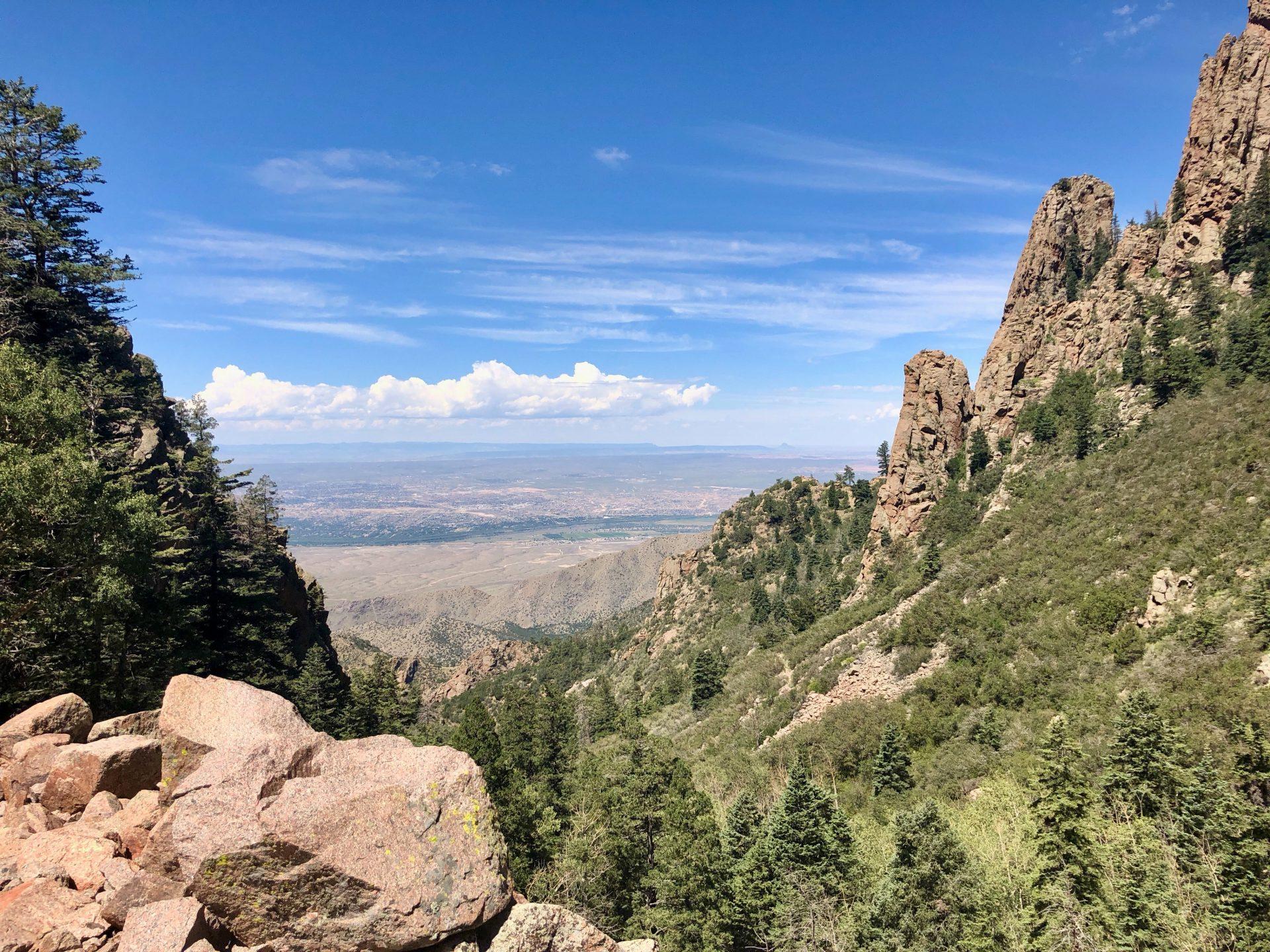 Landscape near Albuquerque NM