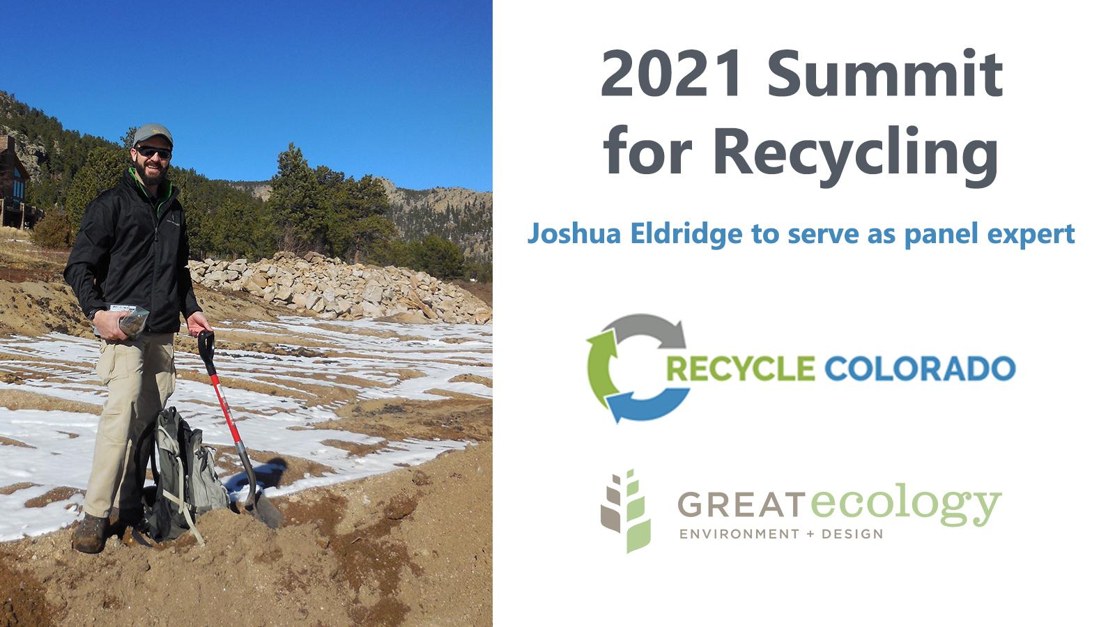 Joshua Eldridge 2021 Summit for Recycling