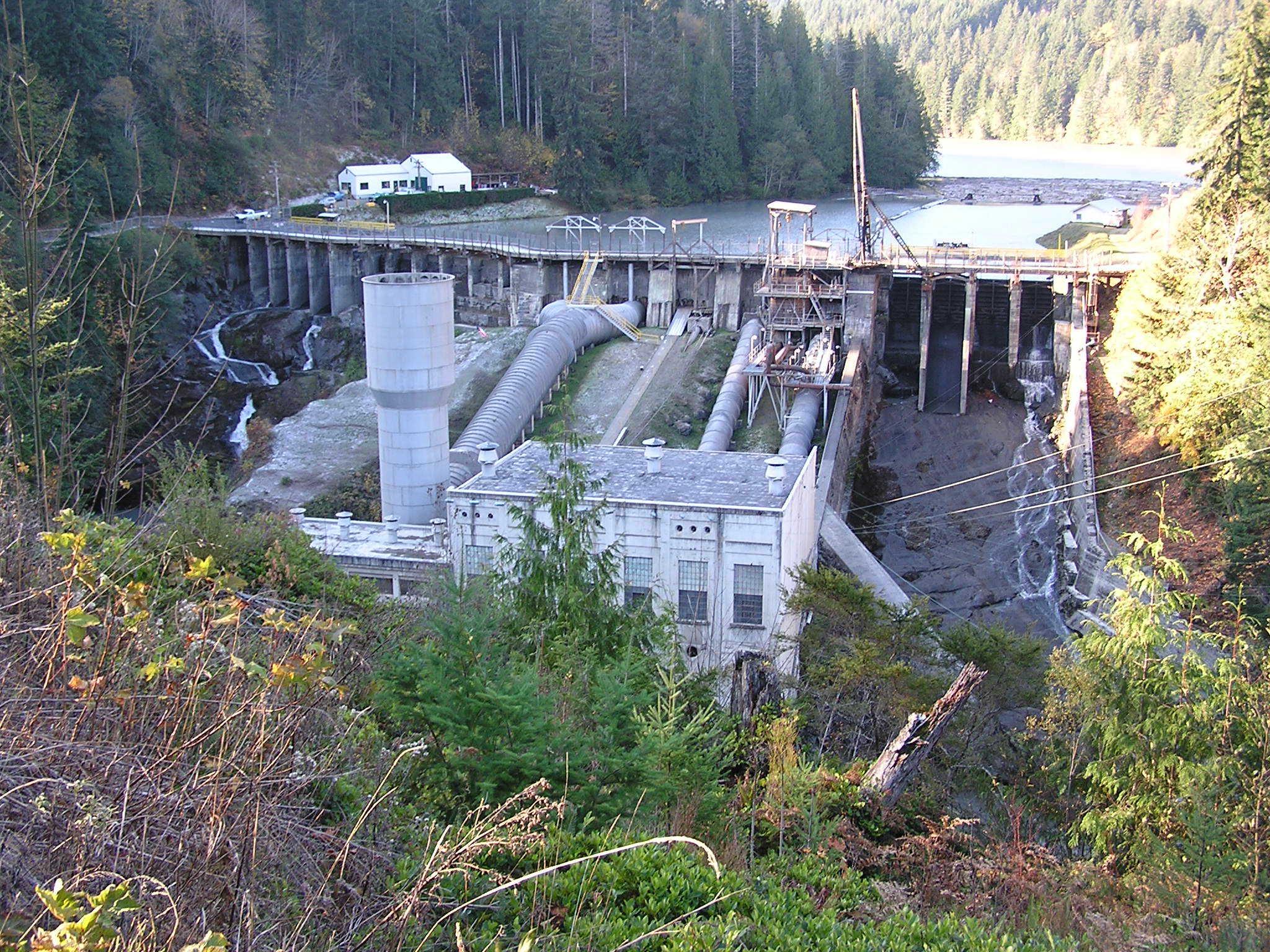 Elwha Dam - Before